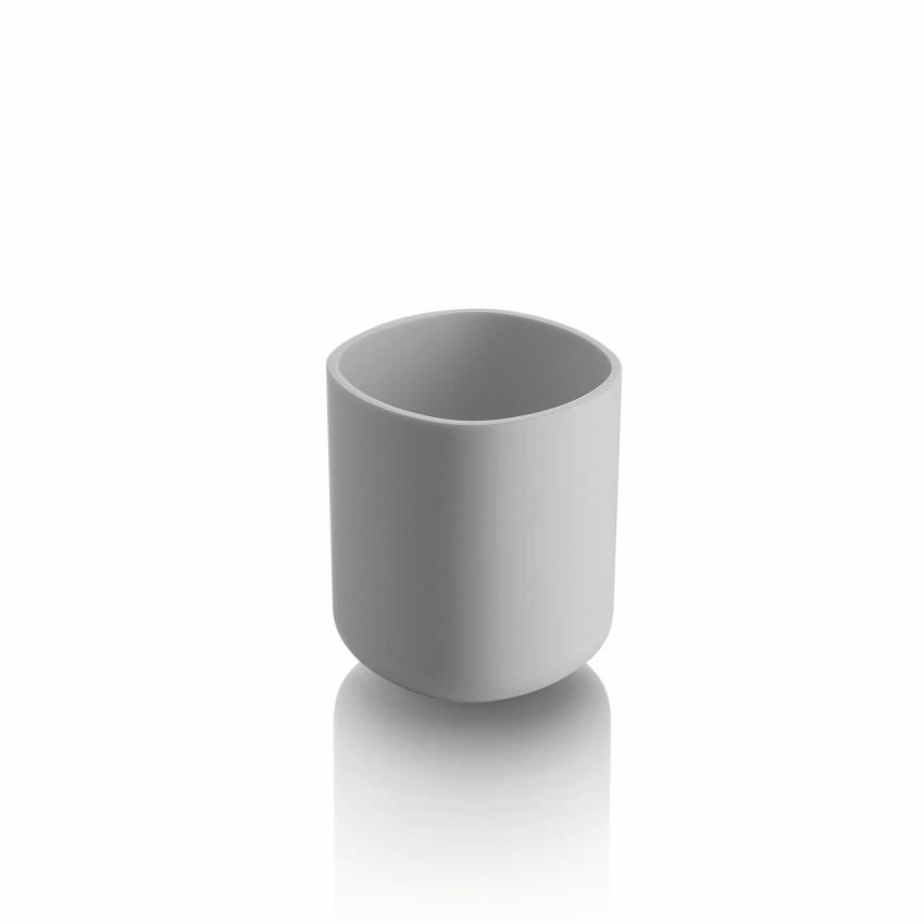 Alessi / Pot pour brosses à dents BIRILLO blanc