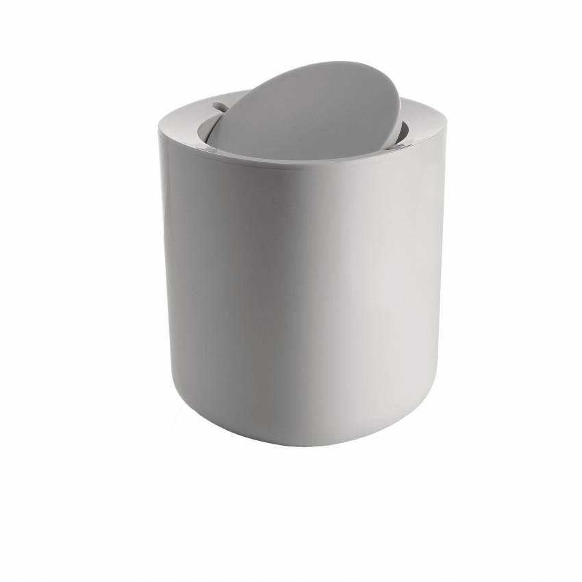 Alessi / Poubelle de salle de bain BIRILLO blanc