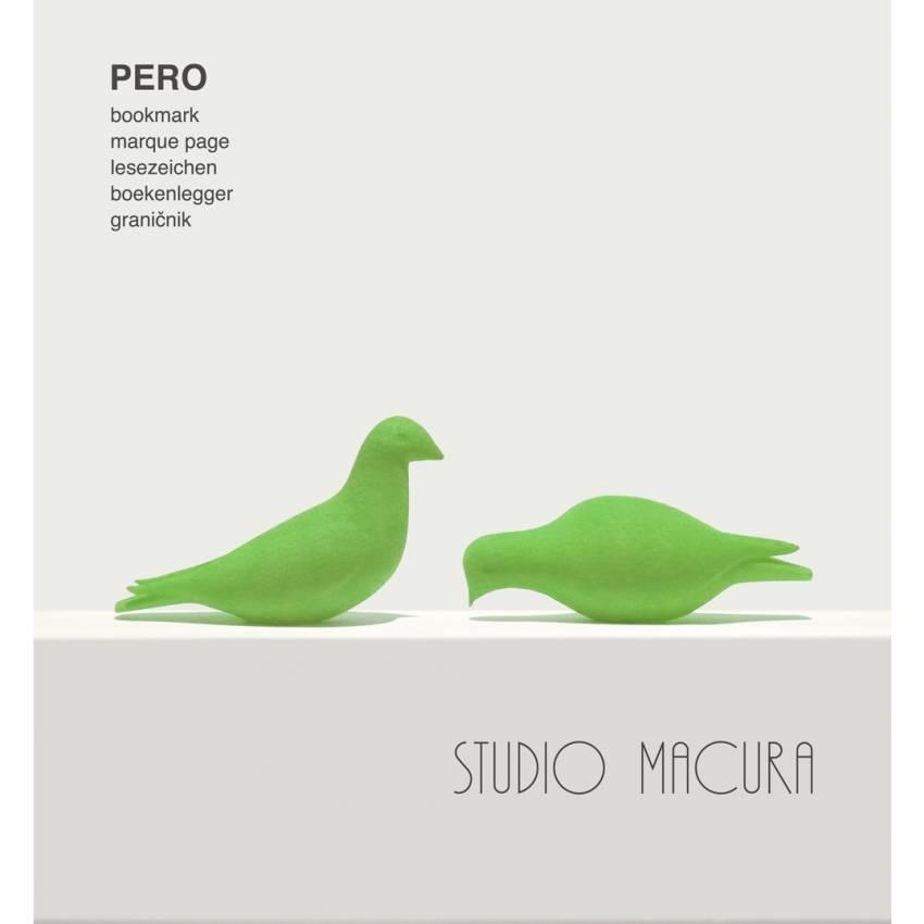 Marque page PERO EATING & SITTING / Vert / Studio Macura