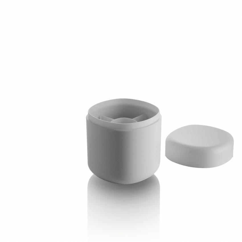 Alessi / Pot à cotons-tiges BIRILLO blanc