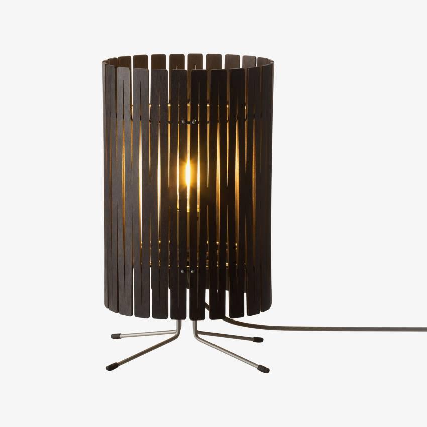 Graypants / Lampe à poser carton T2 noir
