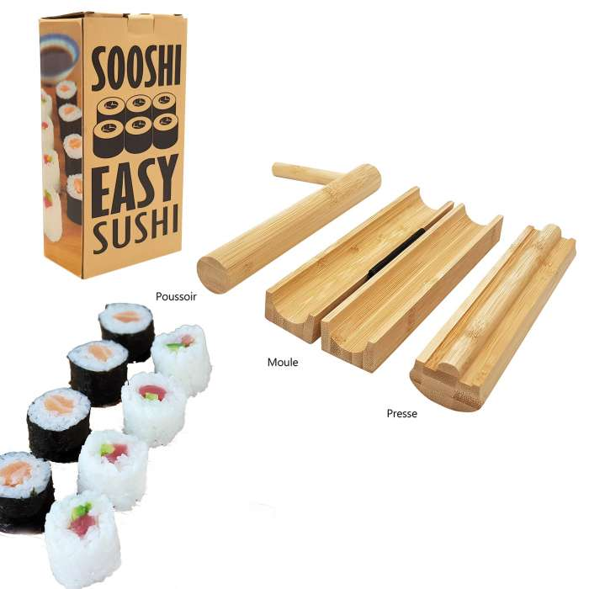 SOOSHI pour faire des sushis faciles / Bambou