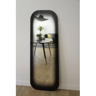 Miroir FADING noir allongé