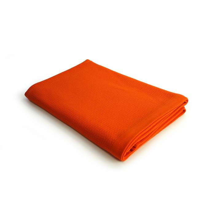 Ekobo Home / Serviette de bain BANO BATH SHEET en coton bio orange
