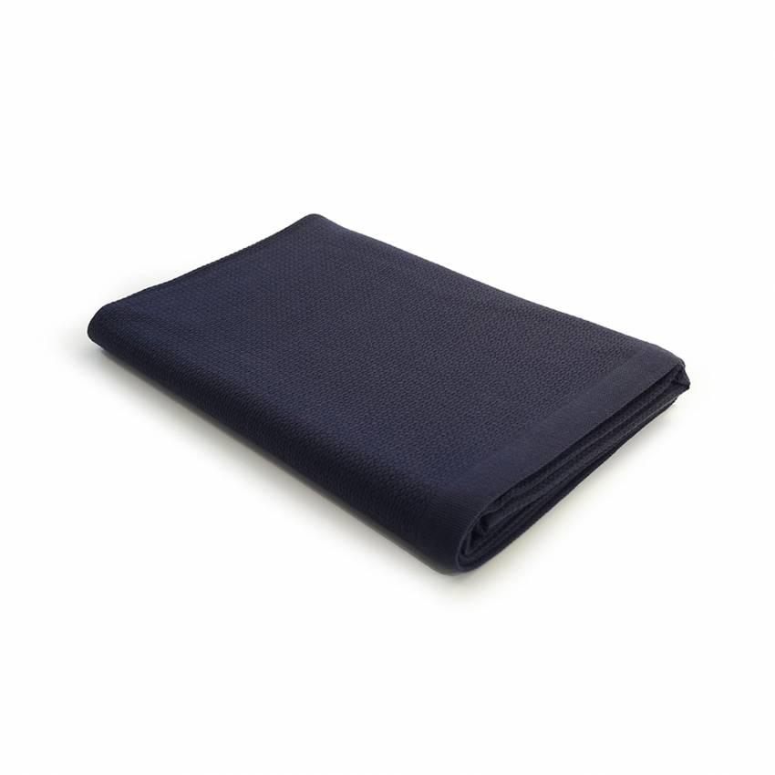 Ekobo Home / Linge de bain BANO BATH SHEET en coton bio bleu nuit