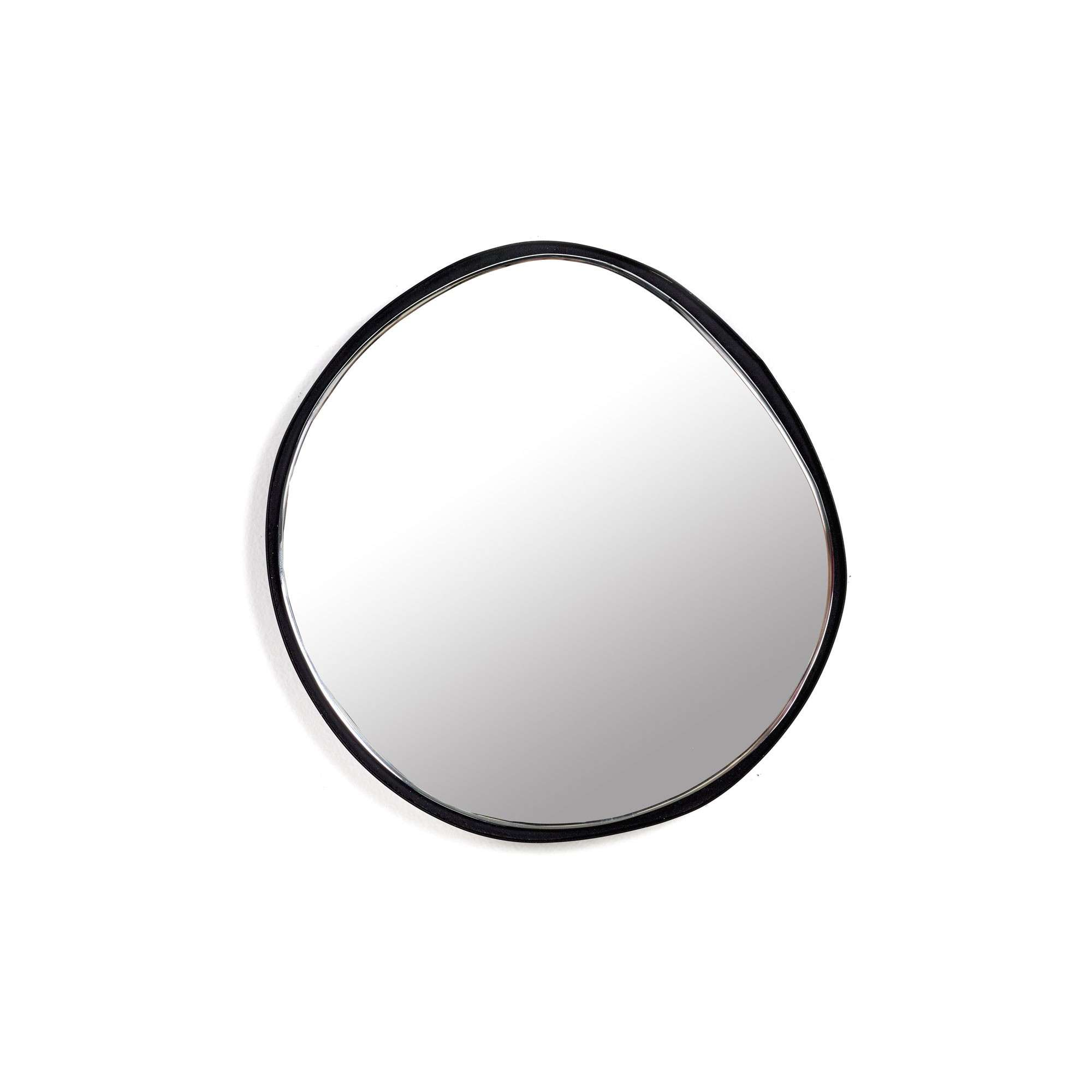 serax miroir mirror a cadre noir 21 5 cm. Black Bedroom Furniture Sets. Home Design Ideas