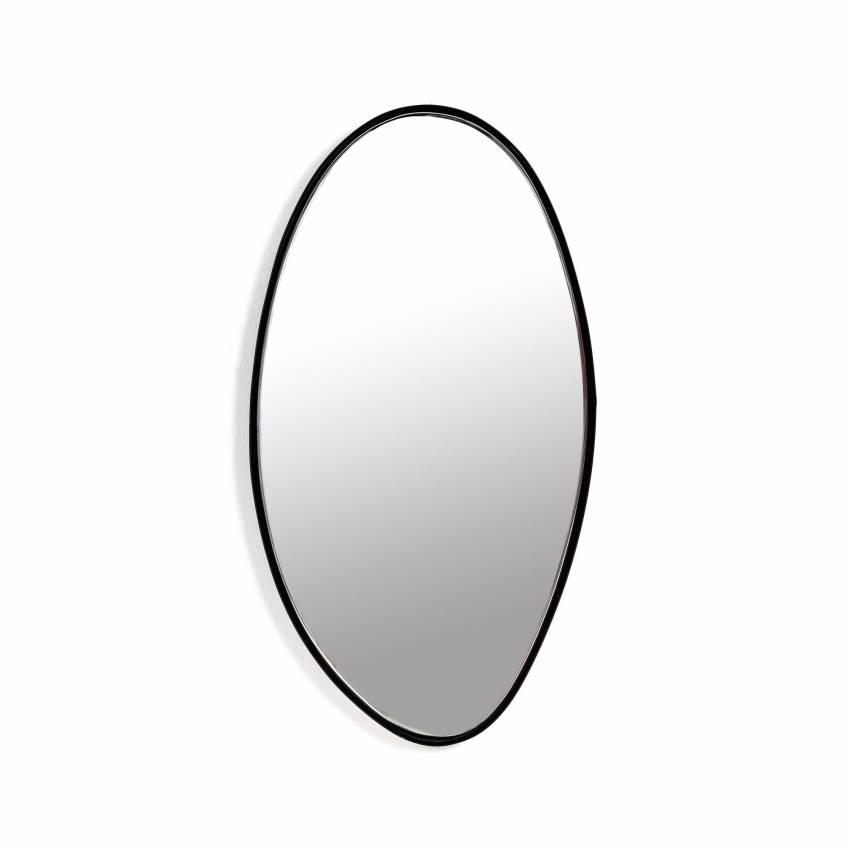 Miroir MIRROR B chez Serax / Cadre Noir / 29,5x16