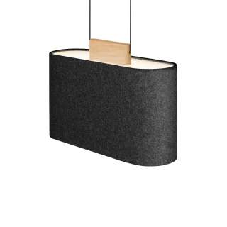 Pablo Design / Suspension BELMONT Charcoal / 56 et 66 cm