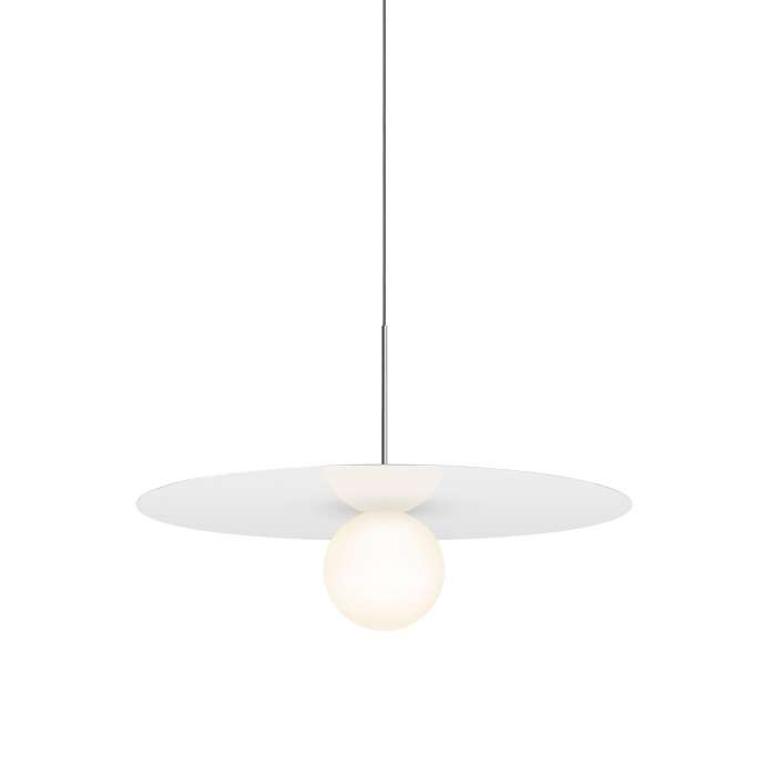 Suspension BOLA DISC gloss white / Pablo Design