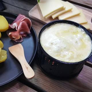 Appareils à Raclette LUMI à la bougie pour 4 personnes / Lot de 4
