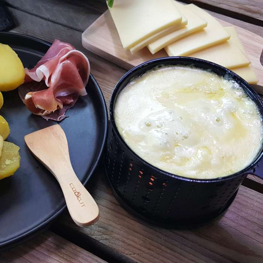 Lumi / set de 4 raclettes à la bougie - Cuisine Cookut