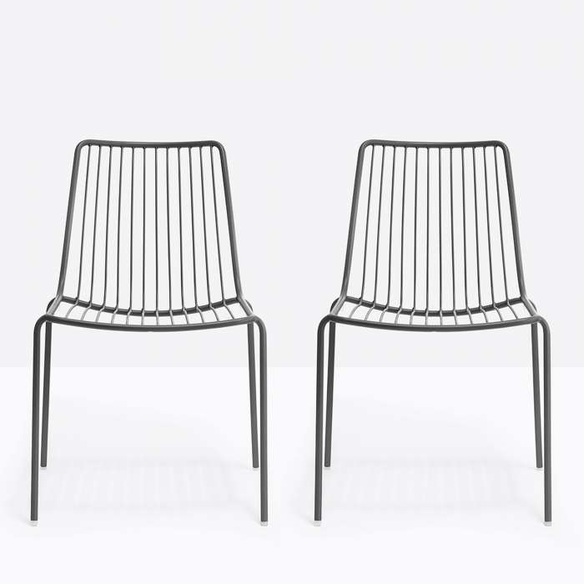 Lot de 2 chaises de jardin NOLITA 3651 - Pedrali