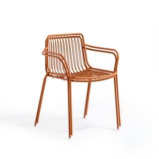 Lot de 2 fauteuils de jardin NOLITA 3655 terracota
