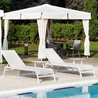 Chaise longue outdoor CARAIBI / Blanc