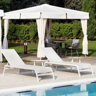 Transat outdoor CARAIBI terrasse / gris
