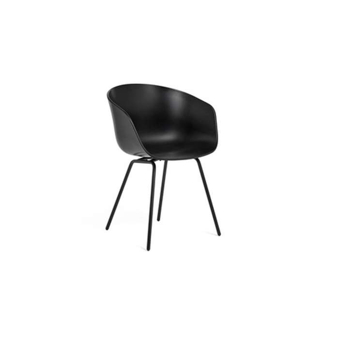 HAY - Chaise avec accoudoirs ABOUT A STOOL AAC26 / Noir
