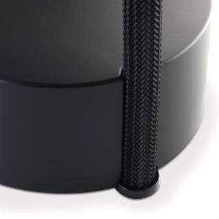 Lampadaire ROPE TRICK LED / Abat-jour orientable NOIR