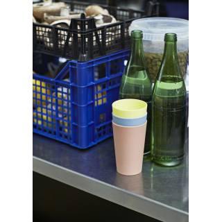 Ensemble de 6 verres en plastique PAQUET CUP / HAY