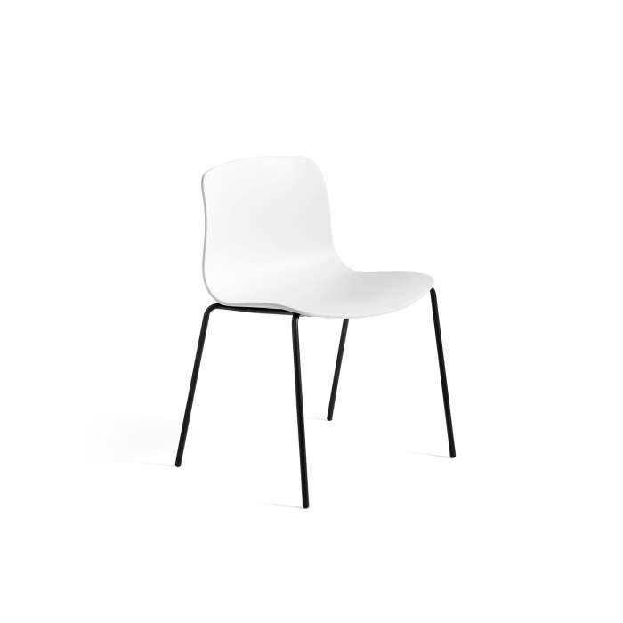 HAY / Chaise AAC16 blanc - pieds noir