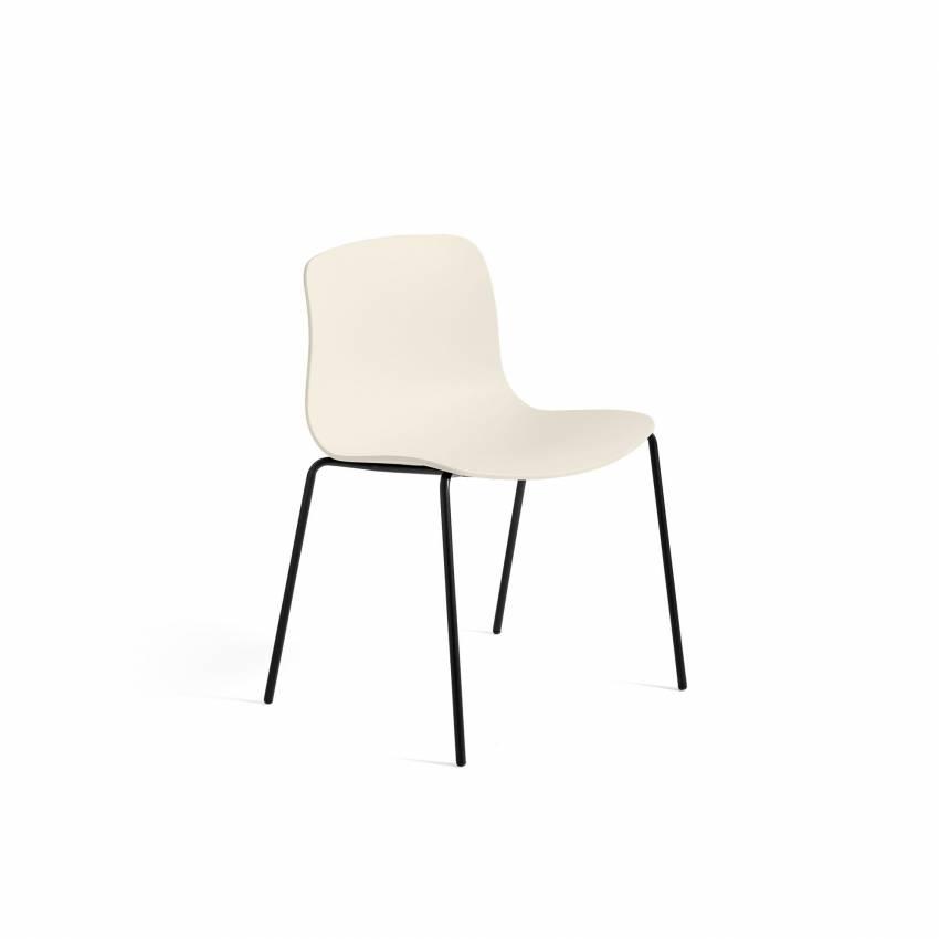 HAY / Chaise AAC16 crème - pieds noir