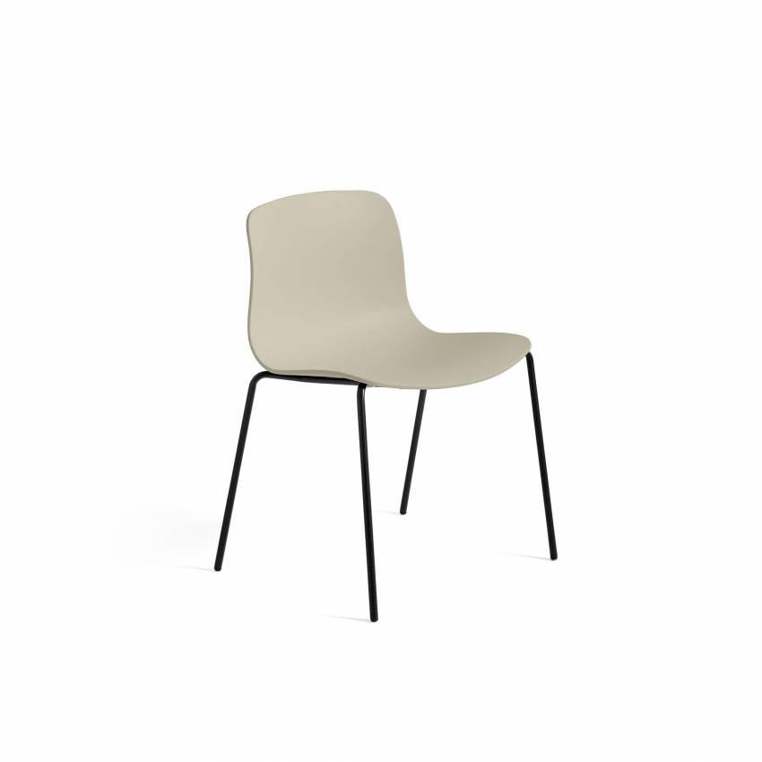 HAY / Chaise AAC16 vert pastel - pieds noir