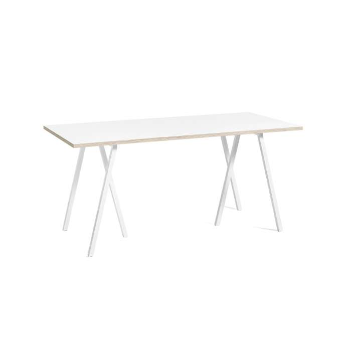 Hay / Table + renfort LOOP STAND / Blanc / 4 dimensions