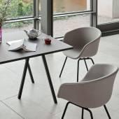 Hay / Table + renfort LOOP STAND / Gris / 4 dimensions