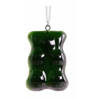Sautoir Ourson / Vert