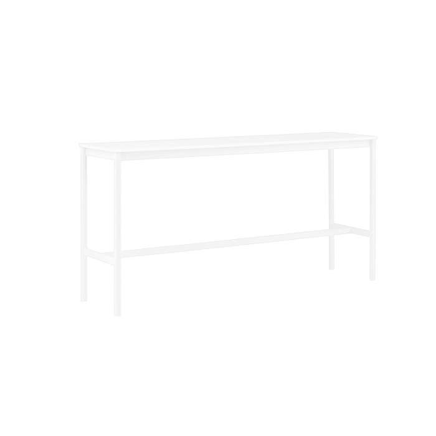 Table BASE HIGH TABLE / Blanc