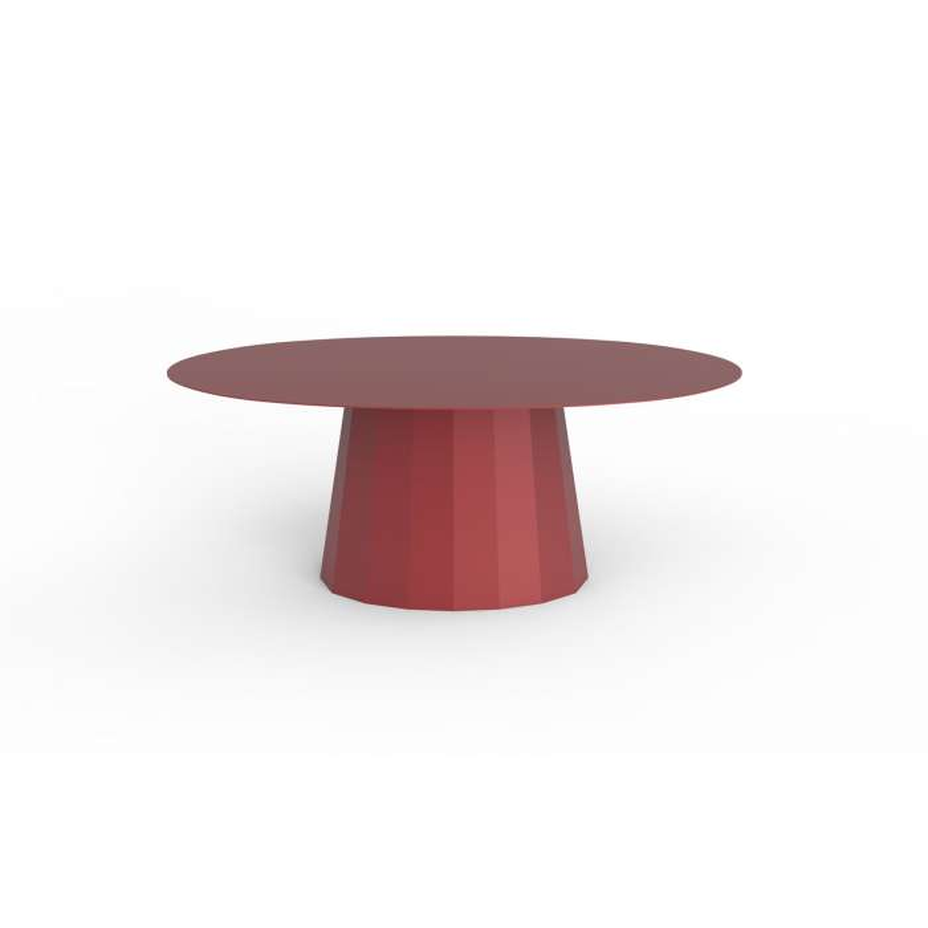 Matière Grise / Table basse de salon Ankara / Rouge pourpre