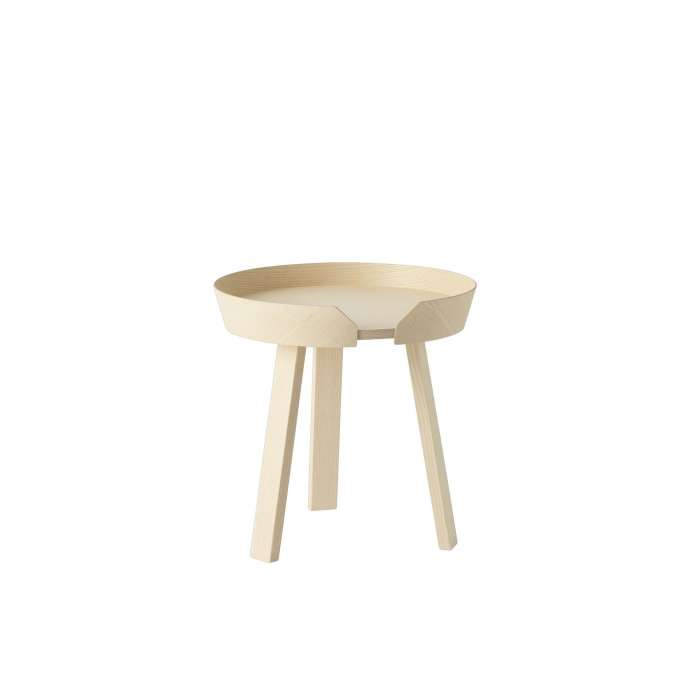 Table basse AROUND / Small / Frêne + 9 couleurs