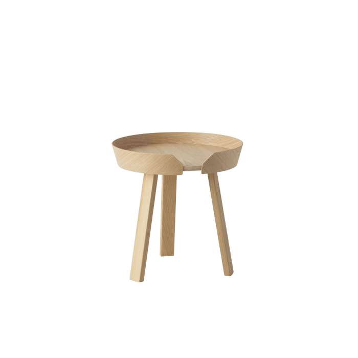 Table basse AROUND / Small / Chêne+ 9 couleurs