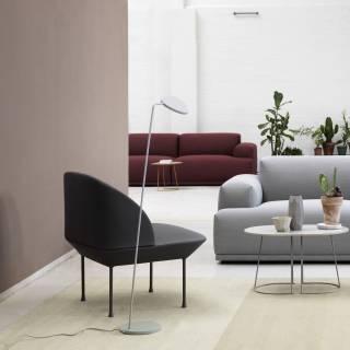 Fauteuil de canapé OSLO LOUNGE / gris foncé + 4 coloris