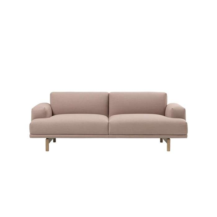 Canapé COMPOSE SOFA / 2 ou 3 places / rose + 5 coloris