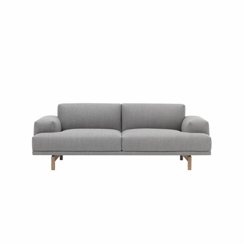 Canapé COMPOSE SOFA / 2 ou 3 places / gris + 5 coloris