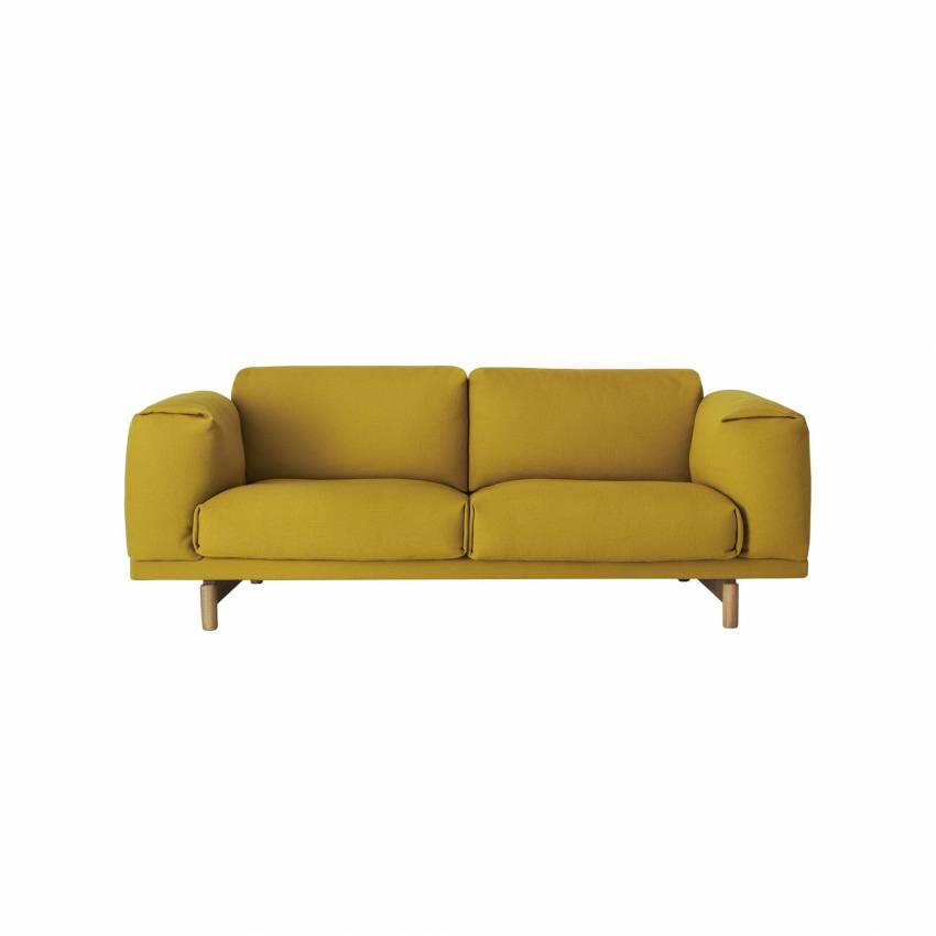 Canapé REST SOFA / 2 ou 3 places / moutarde + 7 coloris