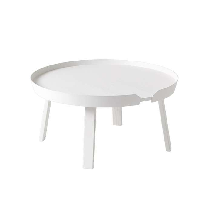 Table basse AROUND / Large / Blanc + 8 couleurs