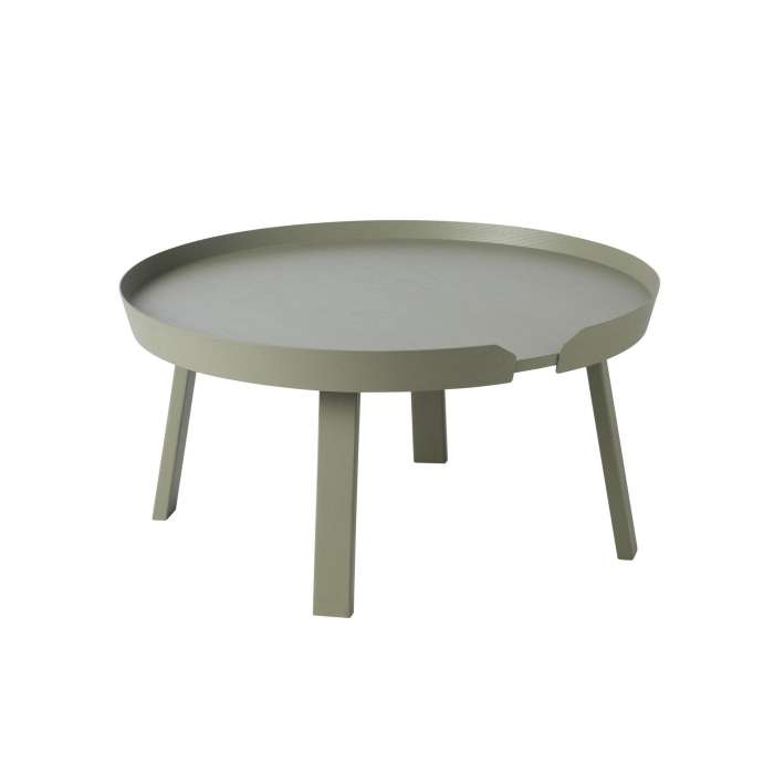 Table basse AROUND / Large / Vert + 8 couleurs