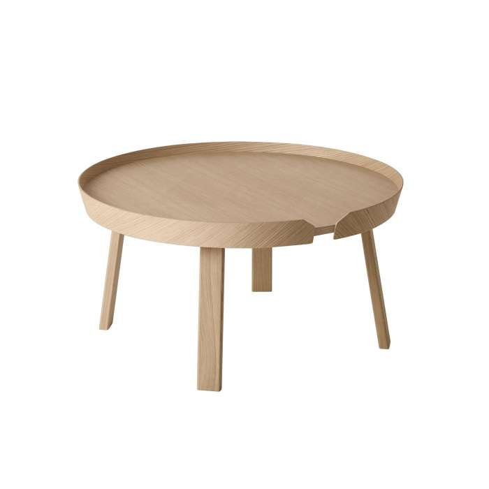 Table basse AROUND / Large / Chêne + 8 couleurs