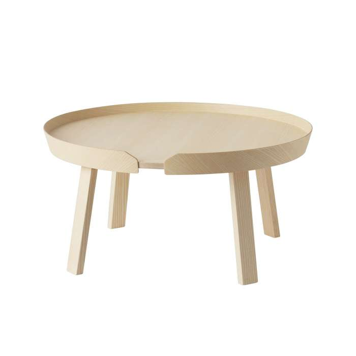 Table basse AROUND / Large / Frêne + 8 couleurs
