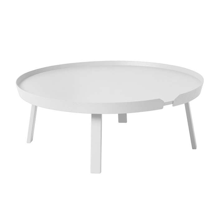 Table basse AROUND / XL / Blanc + 8 couleurs