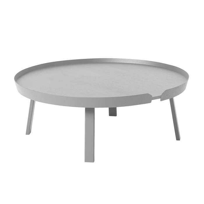Table basse AROUND / XL / Gris + 8 couleurs