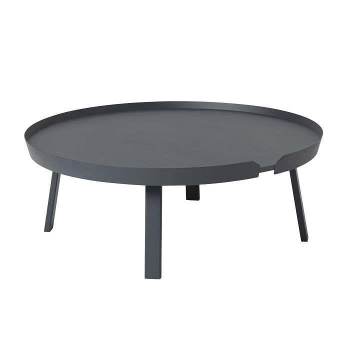 Table basse AROUND / XL / Anthracite + 8 couleurs