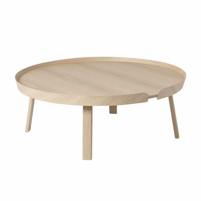 Table basse AROUND / XL / Chêne + 8 couleurs