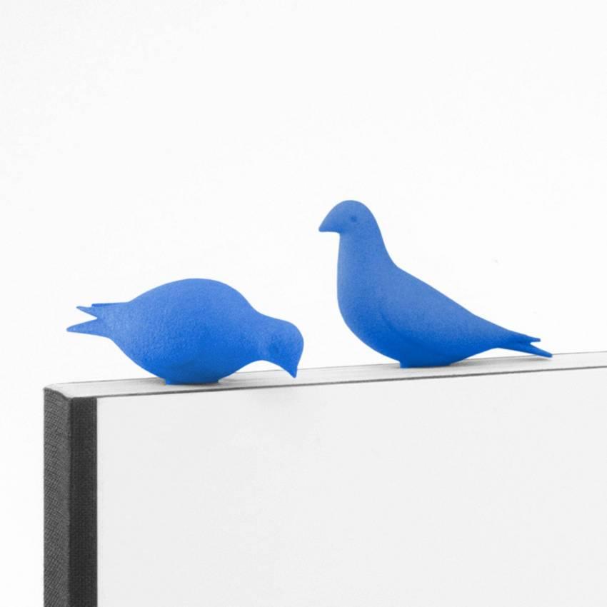 Studio Macura / Duo de marque page PERO / Bleu azur