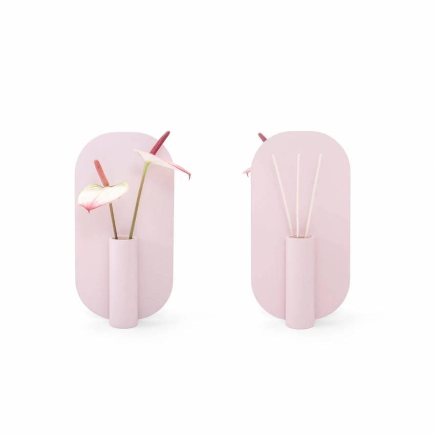 Vase à double face IZA / Rose bonbon