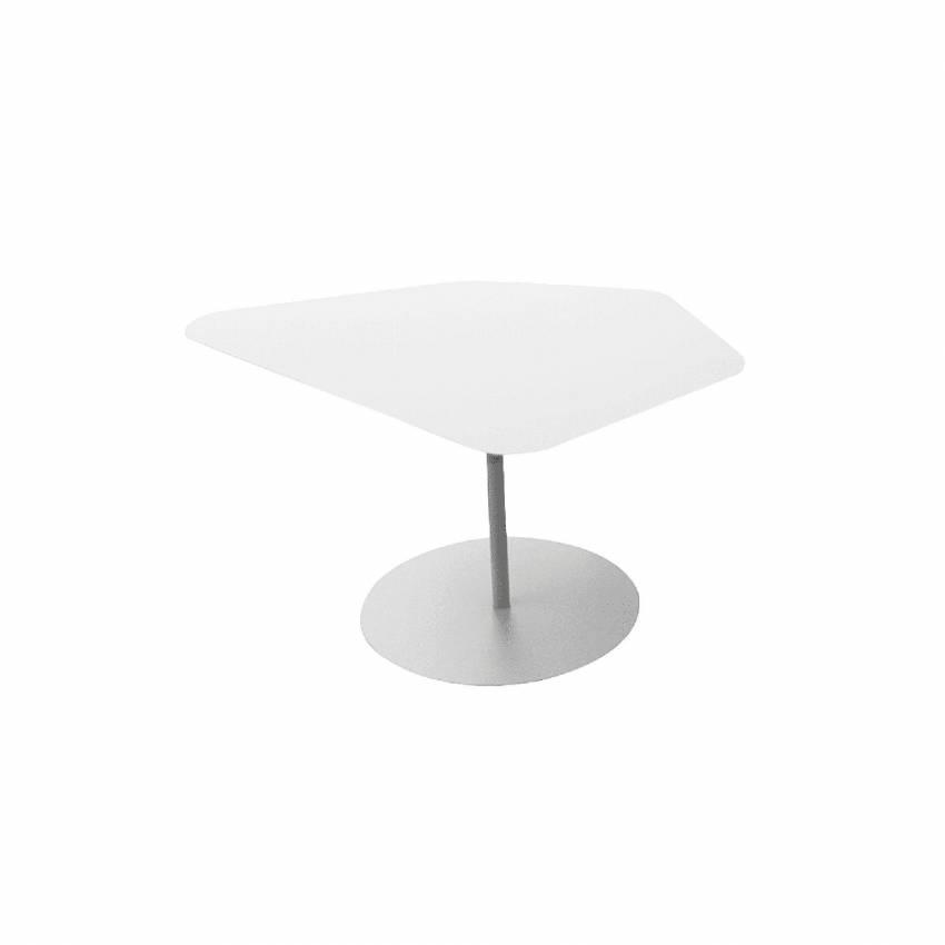 Table basse Kona / Intérieur ou Extérieur / Blanc + 4 coloris