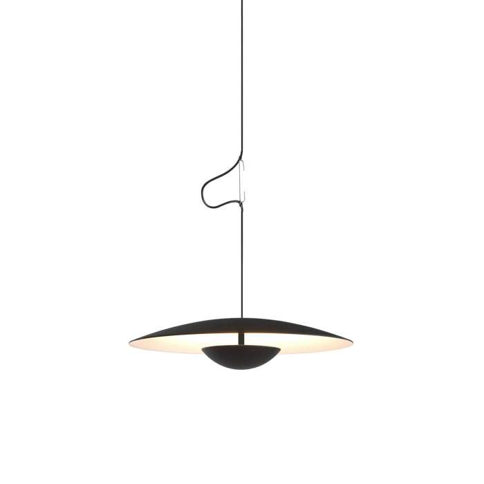 Suspension GINGER avec LED / Métal Noir / Marset