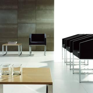 Table basse CUBIK / 60 x 56 cm / Hêtre