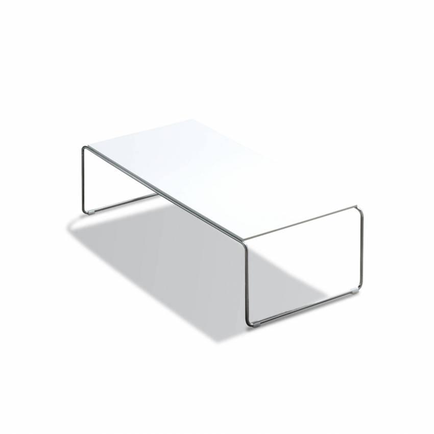 Table basse ETNIA / 116 x 62 cm / Blanc